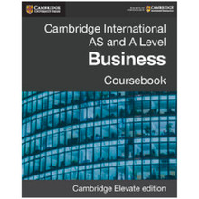 Cambridge AS and A Level Business Cambridge Elevate Enhanced Edition - ISBN 9781107696129