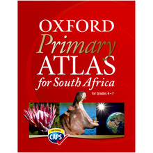 Oxford Primary Atlas for South Africa (CAPS Revision) - SBN 9780199070374