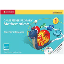 Primary Mathematics Teachers Resource Book 1 with CD-ROM - ISBN 9781107656833