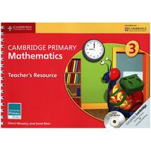 Primary Mathematics Teachers Resource Book 3 with CD-ROM - ISBN 9781107668898
