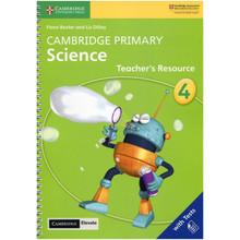 Cambridge Primary Science Stage 4 Teacher's Resource with Cambridge Elevate - ISBN 9781108678315