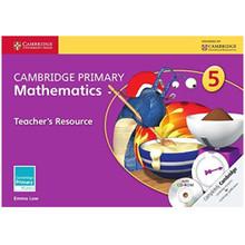 Cambridge Primary Mathematics Teachers Resource Book 5 with CD-ROM - ISBN 9781107658547