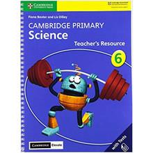 Cambridge Primary Science Stage 6 Teacher's Resource with Cambridge Elevate - ISBN 9781108678346