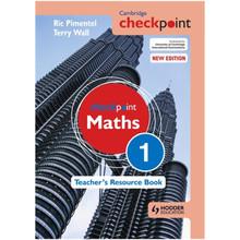 Cambridge Checkpoint Mathematics Teacher's Resource Book 1 - ISBN 9781444143928