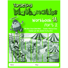 Singapore Maths Primary Level Targeting Mathematics 1A Part 2 Workbook - ISBN 9789814250894