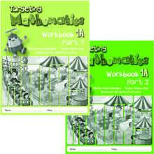 Primary Level Targeting Maths 1A Workbook Class Pack of 40 (20x Part 1 & 20x Part 2 Workbooks) - Singapore Maths Primary Level - ISBN 9780190757113