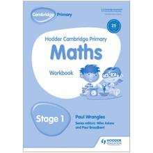 Hodder Cambridge Primary Maths: Workbook Stage 1 - ISBN 9781471884566