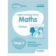 Hodder Cambridge Primary Maths: Workbook Stage 5 - ISBN 9781471884658