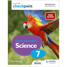 Hodder Cambridge Checkpoint Lower Secondary Science Student's Book 7 - ISBN 9781398300187