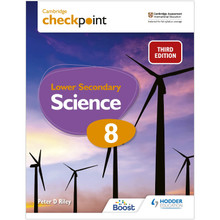 Hodder Cambridge Checkpoint Lower Secondary Science Student's Book 8 - ISBN 9781398302099