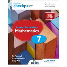 Hodder Cambridge Checkpoint Lower Secondary Mathematics Student's Book 7 - ISBN 9781398301948