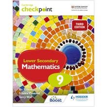 Hodder Cambridge Checkpoint Lower Secondary Mathematics Student's Book 9 - ISBN 9781398302044