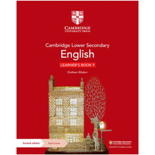 Cambridge Lower Secondary English Learner's Book 9 with Digital Access (1 Year) - ISBN 9781108746663