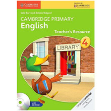 Cambridge Primary English Teachers Resource Book 4 with CD-ROM - ISBN 9781107650855