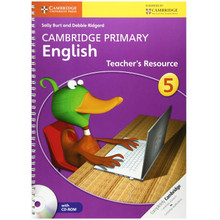 Cambridge Primary English Teachers Resource Book 5 with CD-ROM - ISBN 9781107638303
