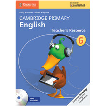 Cambridge Primary English Teachers Resource Book 6 with CD-ROM - ISBN 9781107644687