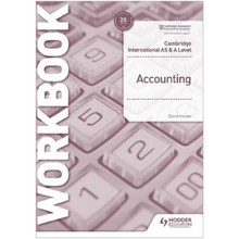 Hodder Cambridge International AS and A Level Accounting Workbook - ISBN 9781398317543