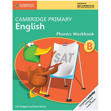 Cambridge Primary English Phonics Workbook B - ISBN 9781107675926