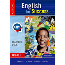 Oxford English for Success Grade 9 Learner's Book - ISBN 9780199048182