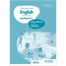 Hodder Cambridge Primary English Workbook 5 (2nd Edition) - ISBN 9781398300330