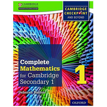 Complete Mathematics for Cambridge Stage 1 Student Book - ISBN 9780199137046