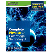 Complete Physics for Cambridge Secondary 1 Student Book - ISBN 9780198390244