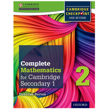 Complete Mathematics for Cambridge Stage 2 Student Book - ISBN 9780199137077