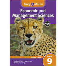Study & Master Economic and Management Sciences Learner's Book Grade 9 - ISBN 9781107665262