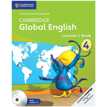 Cambridge Global English Stage 4 Learners Book with Audio CD - ISBN 9781107613638