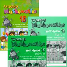 Targeting Mathematics 1B Class Pack (20 Textbooks & 20 each Part 1 & Part 2 Workbooks) - Singapore Maths Primary Level - ISBN 9780190757007