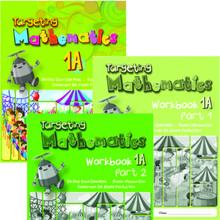Targeting Mathematics 1A Class Pack (20 Textbooks & 20 each Part 1 & Part 2 Workbooks) - Singapore Maths Primary Level - ISBN 9780190756994
