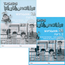 Targeting Maths 2A Workbook Class Pack of 40 (20x Part 1 & 20x Part 2 Workbooks) - Singapore Maths Primary Level - ISBN 9780190757137