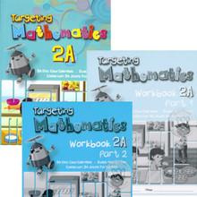 Targeting Mathematics 2A Class Pack (20 Textbooks & 20 each Part 1 & Part 2 Workbooks) Singapore Maths Primary Level - ISBN 9780190757014