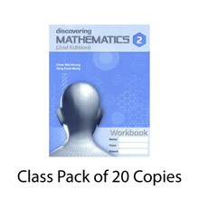 Discovering Maths 2 Class Pack of 20: Workbook Only - Singapore Maths Secondary Level - ISBN 9780190757298