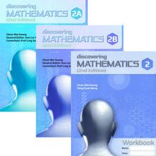 Discovering Maths 2 Class Pack of 60 (20x 2A Textbooks, 20x 2B Textbooks, 20x Workbooks) - Singapore Maths Secondary Level - ISBN 9780190757250