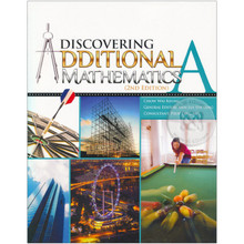 Discovering Additional Mathematics Textbook A - Singapore Maths Secondary Level - ISBN 9789814250818