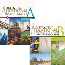 Discovering Additional Maths Class Pack of 40: Learner Textbook Only (20x Textbook A and 20x Textbook B)- Singapore Maths Secondary Level - ISBN 9780190757236