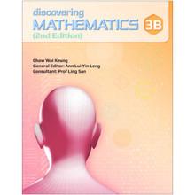 Discovering Mathematics Textbook 3B - Singapore Maths Secondary Level - ISBN 9789814448475