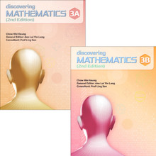 Discovering Maths 3 Class Pack of 40: Learner Textbook Only (20x Textbook 3A and 20x Textbook 3B)- Singapore Maths Secondary Level - ISBN 9780190757267