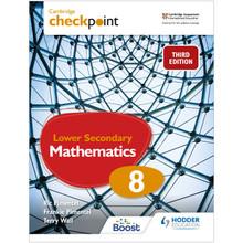Hodder Cambridge Checkpoint Lower Secondary Mathematics Student's Book 8 - ISBN 9781398301993