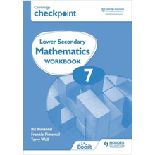 Hodder Cambridge Checkpoint Lower Secondary Mathematics Workbook 7 - ISBN 9781398301269