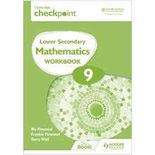 Hodder Cambridge Checkpoint Lower Secondary Mathematics Workbook 9 - ISBN 9781398301306