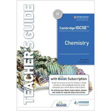 Hodder Cambridge IGCSE Chemistry Teacher's Guide with Boost Subscription - ISBN 9781398310520