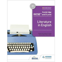 Hodder Cambridge IGCSE and O Level Literature in English Learner's Book - ISBN 9781398317512