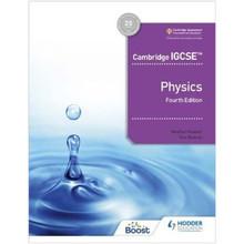 Hodder Cambridge IGCSE Physics Learner's Book (4th Edition) - ISBN 9781398310544