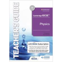 Hodder Cambridge IGCSE Physics Teacher's Guide with Boost Subscription - ISBN 9781398310568