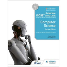 Hodder Cambridge IGCSE and O Level Computer Science Learner's Book (2nd Edition) - ISBN 9781398318281