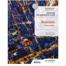 Hodder Cambridge International AS and A Level Business Student Book (2nd Edition) - ISBN 9781398308114