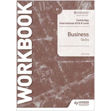 Hodder Cambridge International AS and A Level Business Skills Workook - ISBN 9781398308152