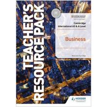 Hodder Cambridge International AS and A Level Business Teacher's Resource Pack - ISBN 9781398308138